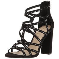 Jessica Simpson Womens Emmi Open Toe Casual Strappy Sandals