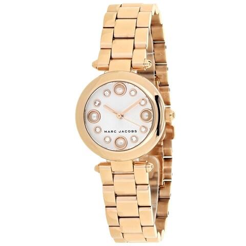 Marc Jacobs Women's Dotty MJ3520 Silver Dial watch