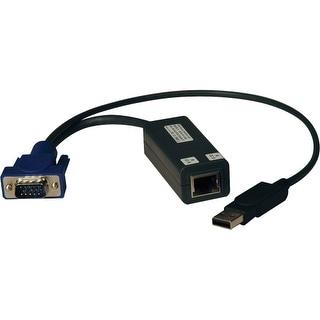 Tripp Lite B078-101-USB-1 Tripp Lite KVM Switch Accessories - NetCommander USB Server Interface Unit (SIU) - USB/VGA/RJ-45 for