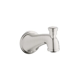 """Grohe 13 610 Geneva Tub Spout 6.125"""" Wall Mount with Diverter"""