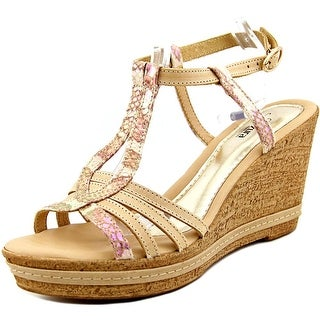 Azura Midsummer Open Toe Synthetic Wedge Sandal