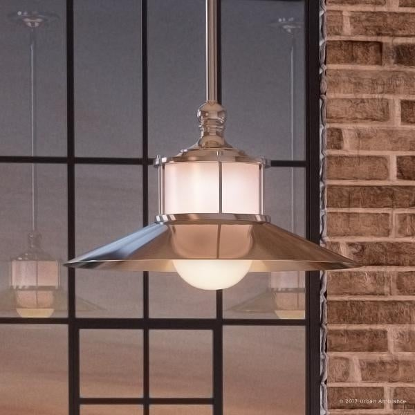 "101 Indoor Nautical Style Lighting Ideas: Shop Luxury Nautical Indoor Hanging Pendant Light, 9""H X"