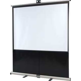 InFocus SC-PU-100 Manual Pull Up Projector Screen - 60 x 80 inch (Refurbished)