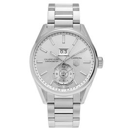 Tag Heuer Men's 'Carrera GMT' WAR5011.BA0723 Stainless Steel Automatic Bracelet Watch