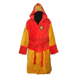 Marvel Iron Man Men's Costume Bath Robe