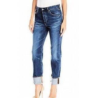 Adriano Goldschmied NEW Blue Mens Size 28X29 Sloan Straight Leg Jeans