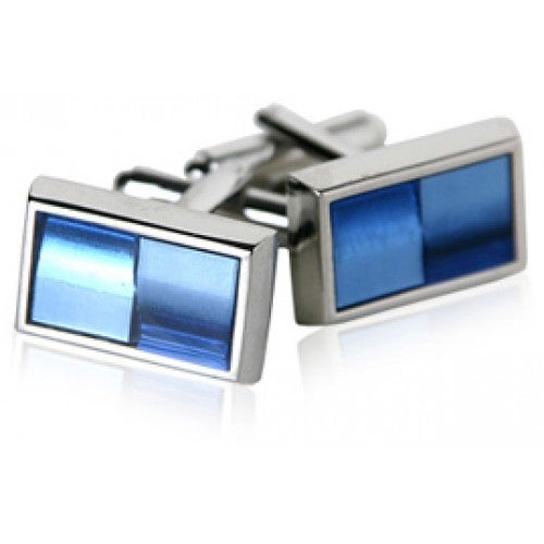 Blue Illusion Cufflinks