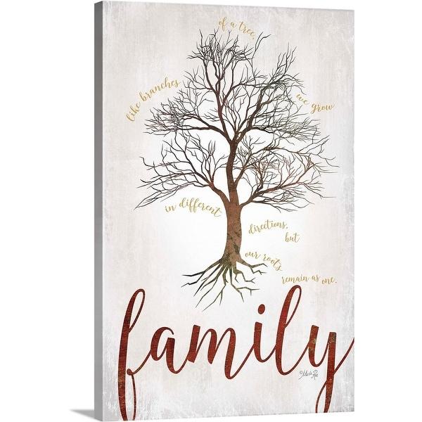 """""""Family Tree"""" Canvas Wall Art"""