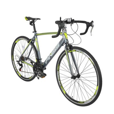 700*28C-21speeds, shimano shifter systerm, green color road bike