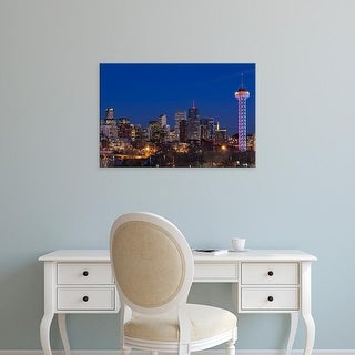 Easy Art Prints Walter Bibikow's 'Denver City View' Premium Canvas Art