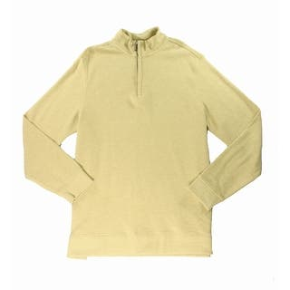 Tasso Elba NEW Yellow Honeycomb Mens Size 2XL Quarter Zip Sweater|https://ak1.ostkcdn.com/images/products/is/images/direct/74dd0bed10aee5be34ee5f3ff29fde0e2907bfc3/Tasso-Elba-NEW-Yellow-Honeycomb-Mens-Size-2XL-Quarter-Zip-Sweater.jpg?impolicy=medium