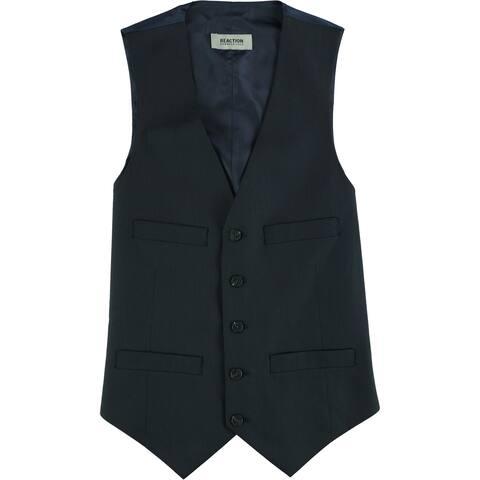 Kenneth Cole Mens Dry Clean Five Button Vest - 36 Regular