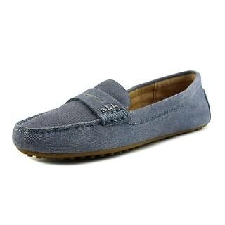 Lauren Ralph Lauren Belen   Round Toe Leather  Loafer
