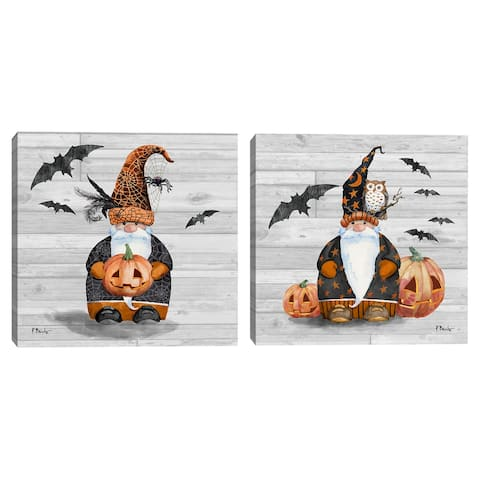 Halloween Gnome I & Halloween Gnome II by Paul Brent Set