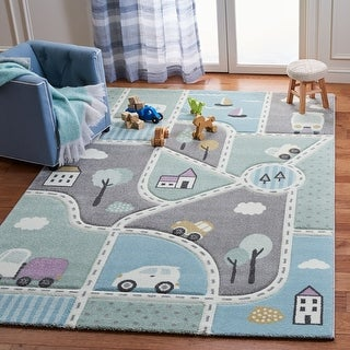 Link to Safavieh Carousel Kids Mihaila Neighborhood Rug Similar Items in Casual Rugs
