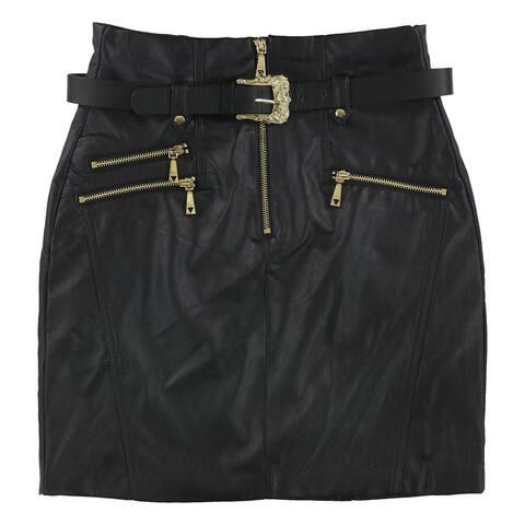 Guess Womens Gia Mini Skirt