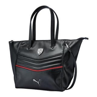 Puma Women S Ferrari Ls Handbag 073937 Black Us One Size