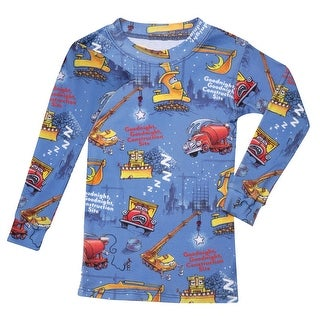 Children's Goodnight, Goodnight Construction Site Pajamas- Great Gift Idea