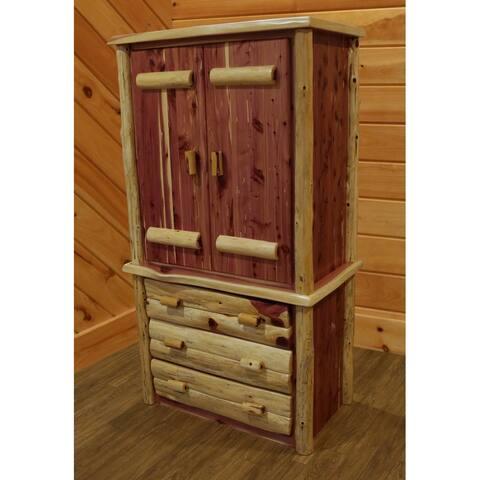 Red Cedar Log - Armoire
