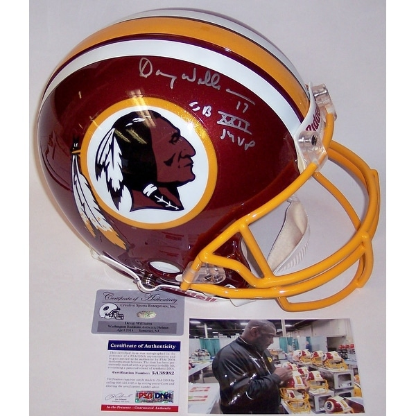 8d46817b Shop Doug Williams Autographed Hand Signed Washington Redskins Authentic  Helmet - PSA/DNA - Free Shipping Today - Overstock - 12785404
