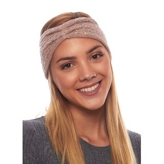 Sparkling Ice Knit Winter Headband