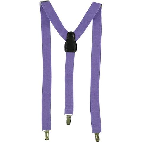 Alfani Mens Basic Medium Suspenders - One Size