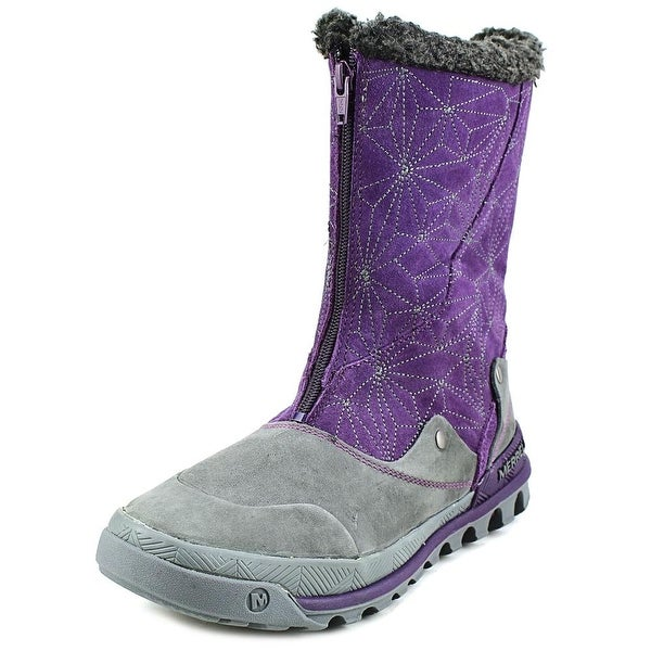 Merrell Silversun Zip Women Round Toe Leather Winter Boot