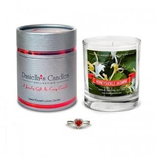 Honeysuckle Jasmine Jewelry Candle - Ring Size 8