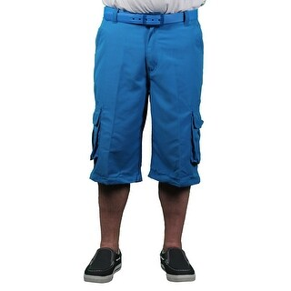Akademiks Men's Neon Cargo Shorts