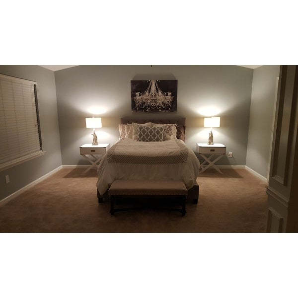Sophie Grey Queen Platform Bed Free Shipping Today 8286781