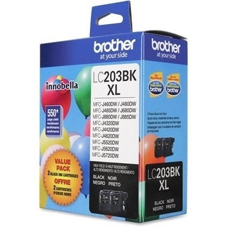 Brother International LC203 Printer Inkjet Cartridges, Black -
