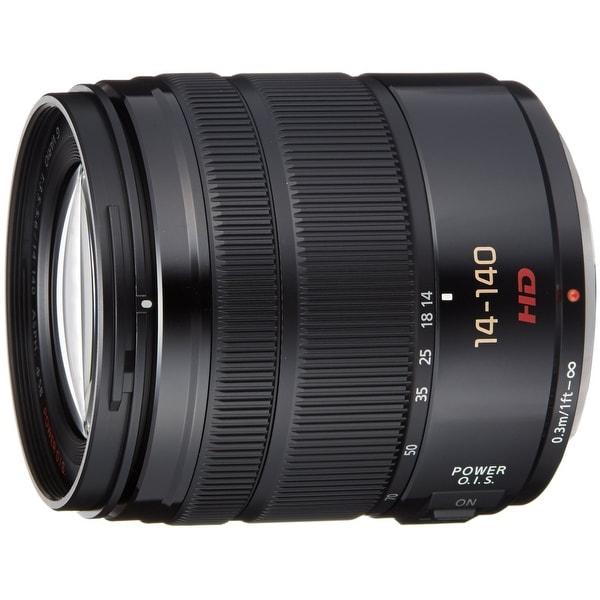 Panasonic Lumix G Vario 14-140mm f/3.5-5.6 ASPH. Power O.I.S. Lens. Opens flyout.