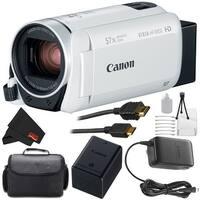 Canon VIXIA HF R800 Full HD Camcorder (White) Bundle