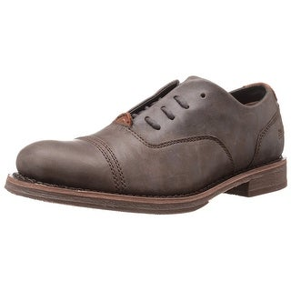 Caterpillar Mens Sawyer Leather Lace Up Dress Oxfords