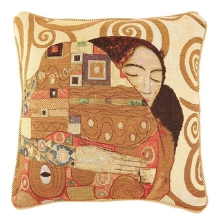 Fine Art Double-Sided Tapestry Square Throw Pillow Cover - Fulfillment