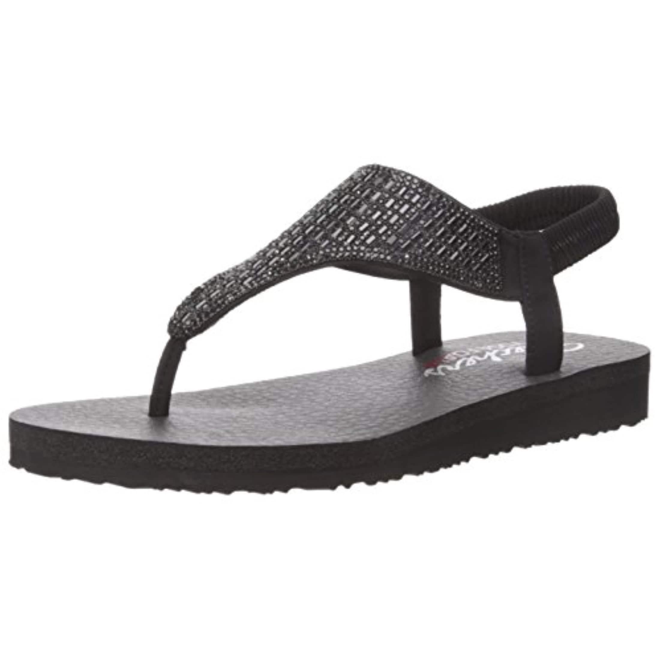 8867045d155e Shop Skechers Cali Women s Meditation-Rock Crown Flat Sandal - Free  Shipping Today - Overstock - 27124959