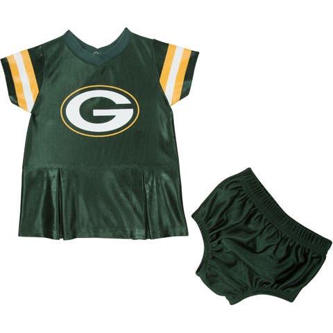 Green Bay Packers Infant Girl Dress & Underwear - 2 Pack - Multi