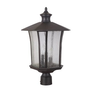 Craftmade Z7725 Chateau 3 Light Outdoor Post Light (Post Not Included) - 11.5 Inches Wide