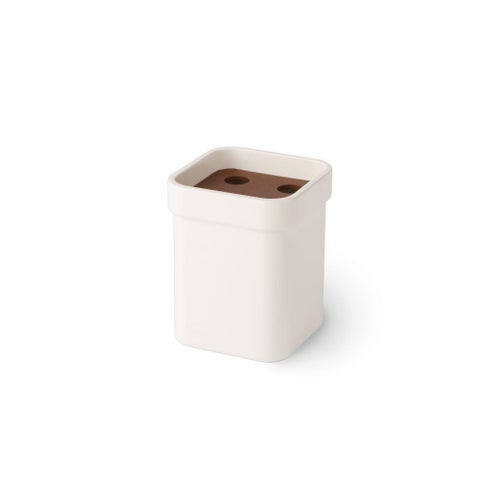 WS Bath Collections Curva 5146 Toothbrush Holder - Holds 4 from the Curva Collection