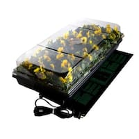 "Hydrofarm CK64050 Germination Station w/ Heat Mat/Tray/72 Cell Pack & 2"" Dome"