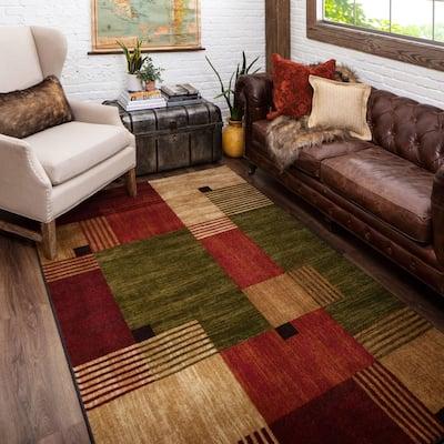 Mohawk Home Alliance Geometric Color Block Area Rug