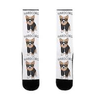 LookHUMAN Hardcorg US Size 7-13 Socks