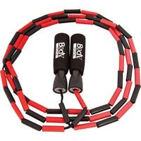 Nylon Jump Rope with Plastic Beading Plastic Handles with Foam