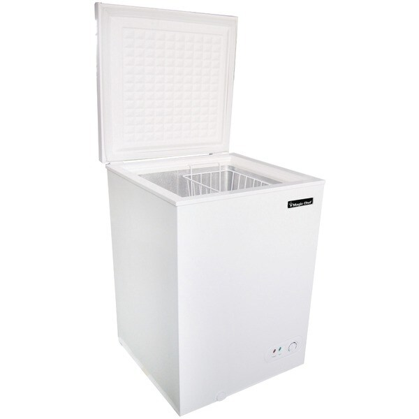 Magic Chef Mccf35W2 3.5 Cubic-Ft Chest Freezer