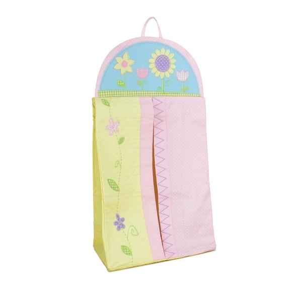 Gund Flowered Hanging Diaper Stacker Storage