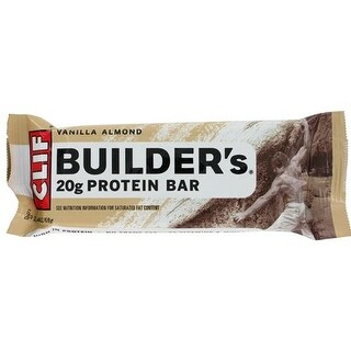 Clif Bar - Clif Builder's Vanilla Almond Bar ( 12 - 2.4 OZ)