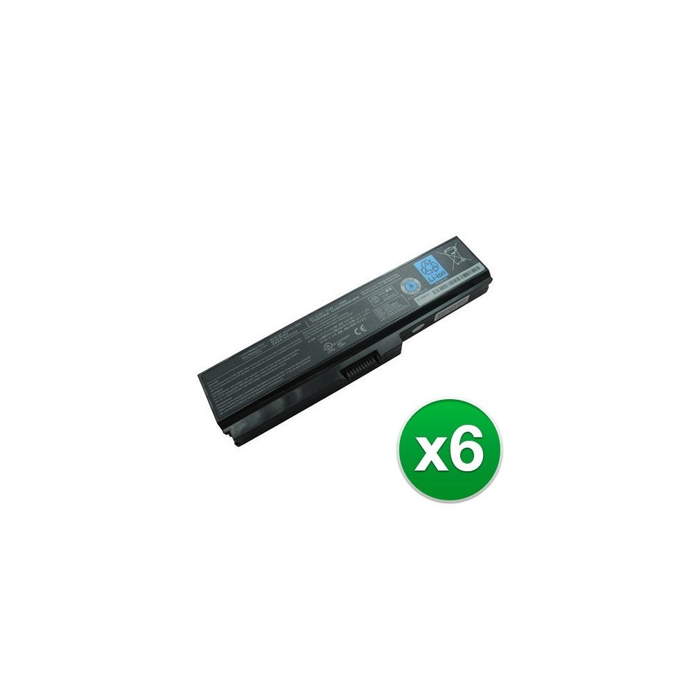 Battery for Toshiba PA3728U 6-Pack Replacement Battery
