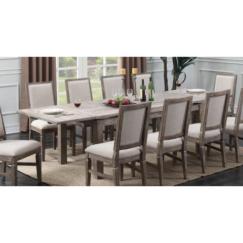 The Gray Barn Willow Way Rustic Casual Dining Table