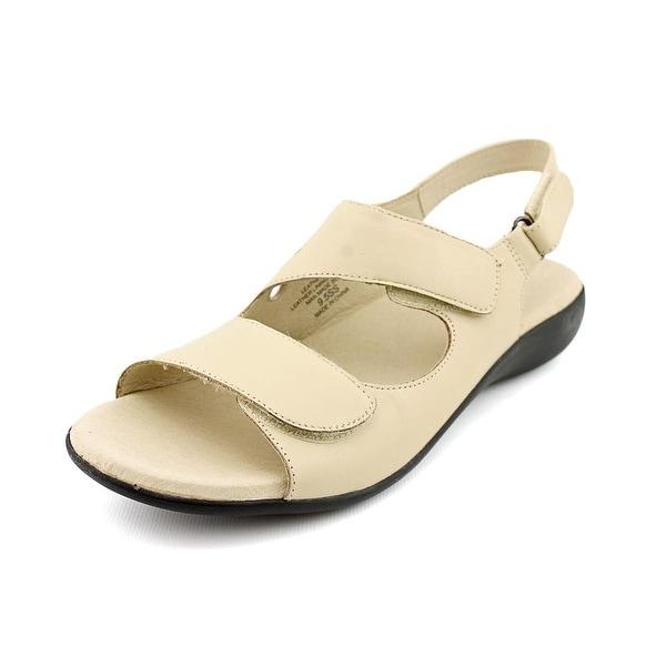 David Tate Lilly Women Open-Toe Leather Slingback Sandal