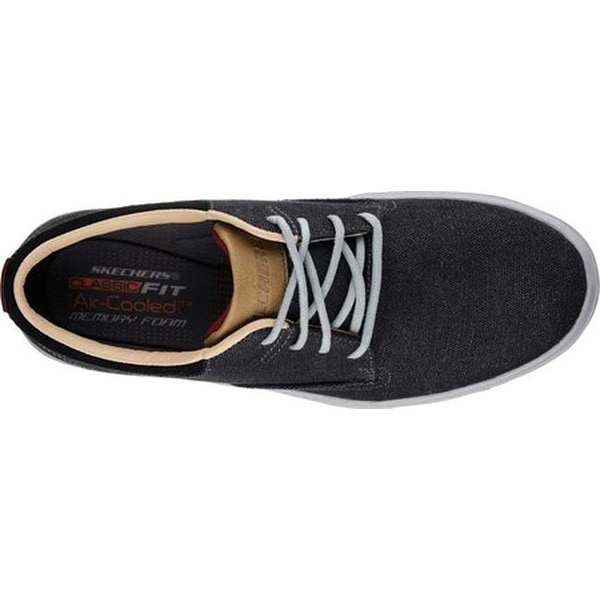 Black Sneaker Skechers Mens Porter Somen
